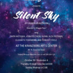 Poster for Insight Theatre Silent Sky